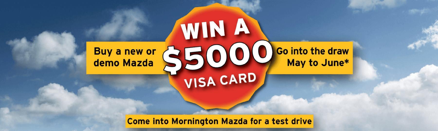 Win a $5000 Visa Card