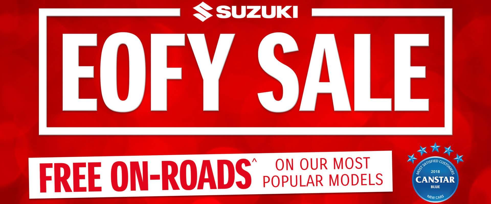 Suzuki EOFY Sale
