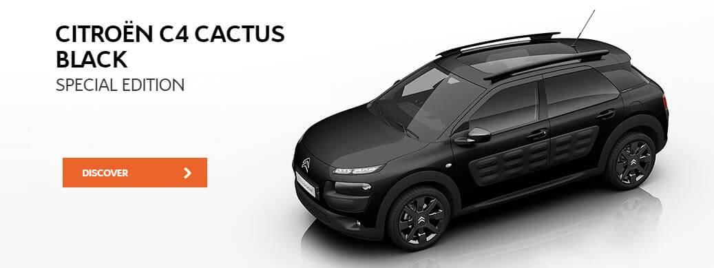 Citroen C4 Cactus Black
