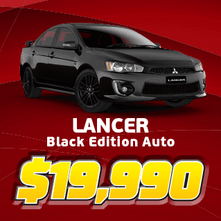 Lancer Black Edition Auto
