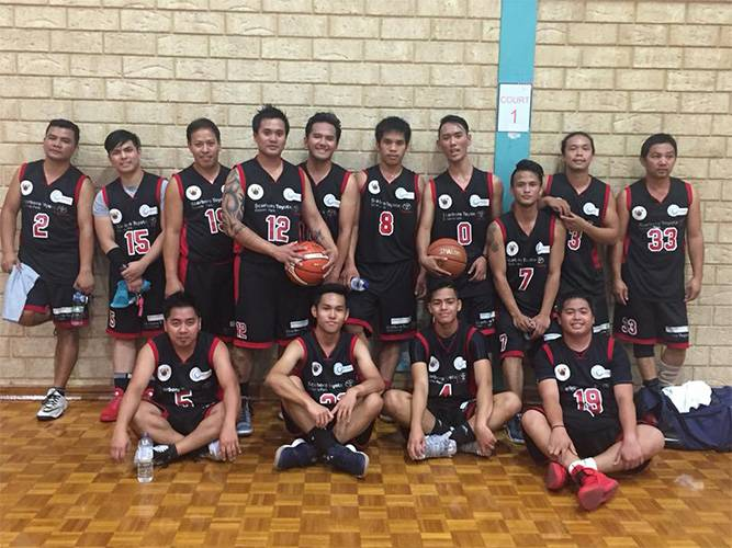 Pepsci Basketball Team