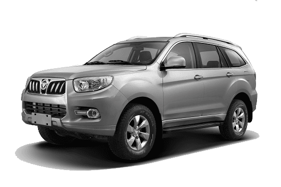 Foton Sauvana Off Road SUV Menu