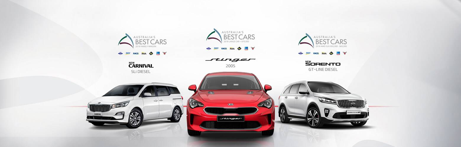 Kia's Best Car Award Winners