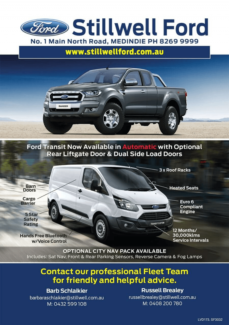 Stillwell Ford - Fleet Information