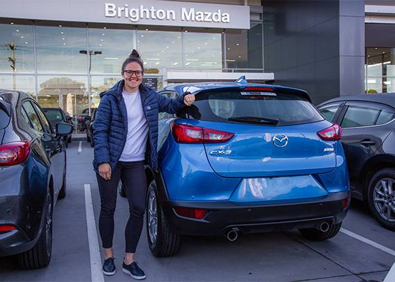 Emma Kearney | Brighton Mazda Ambassador