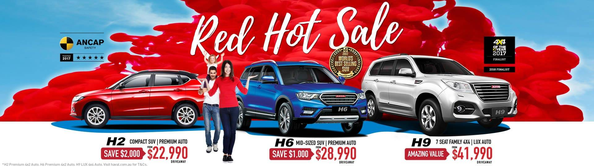 HAVAL Red Hot Sale