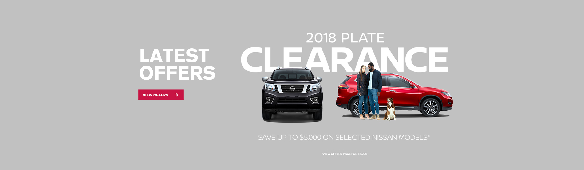 Nissan 2018 Plate Clearance