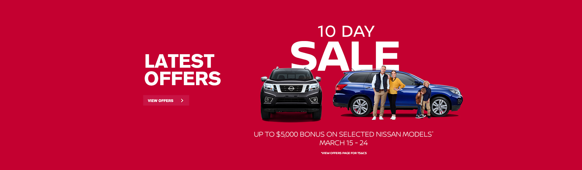 Nissan - 10 Day Sale