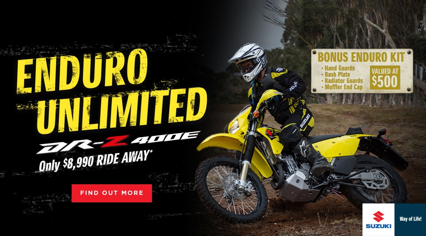 dr-z400e adventure unlimited banner