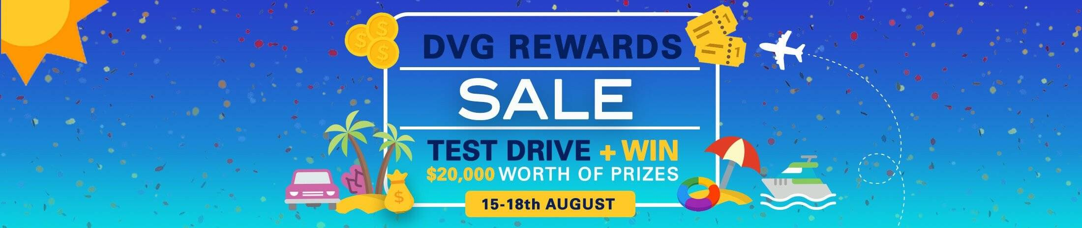 DVG-Rewards Sale
