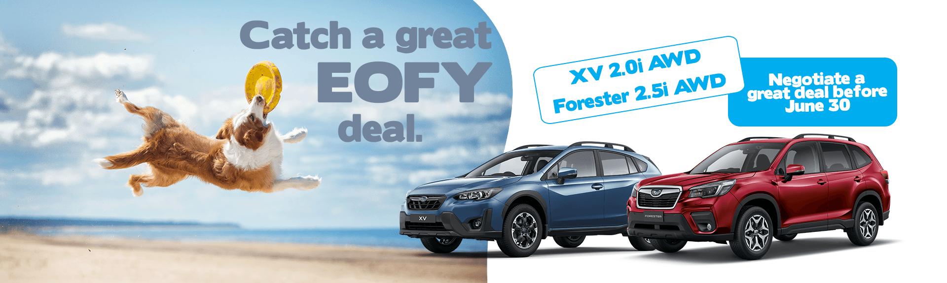 Ryde Subaru Forester Subaru XV, catch a great EOFY deal