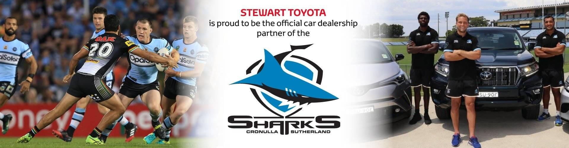 Stewart Toyota Sponsership
