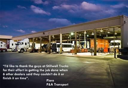 Stillwell Trucks Service Testimonial