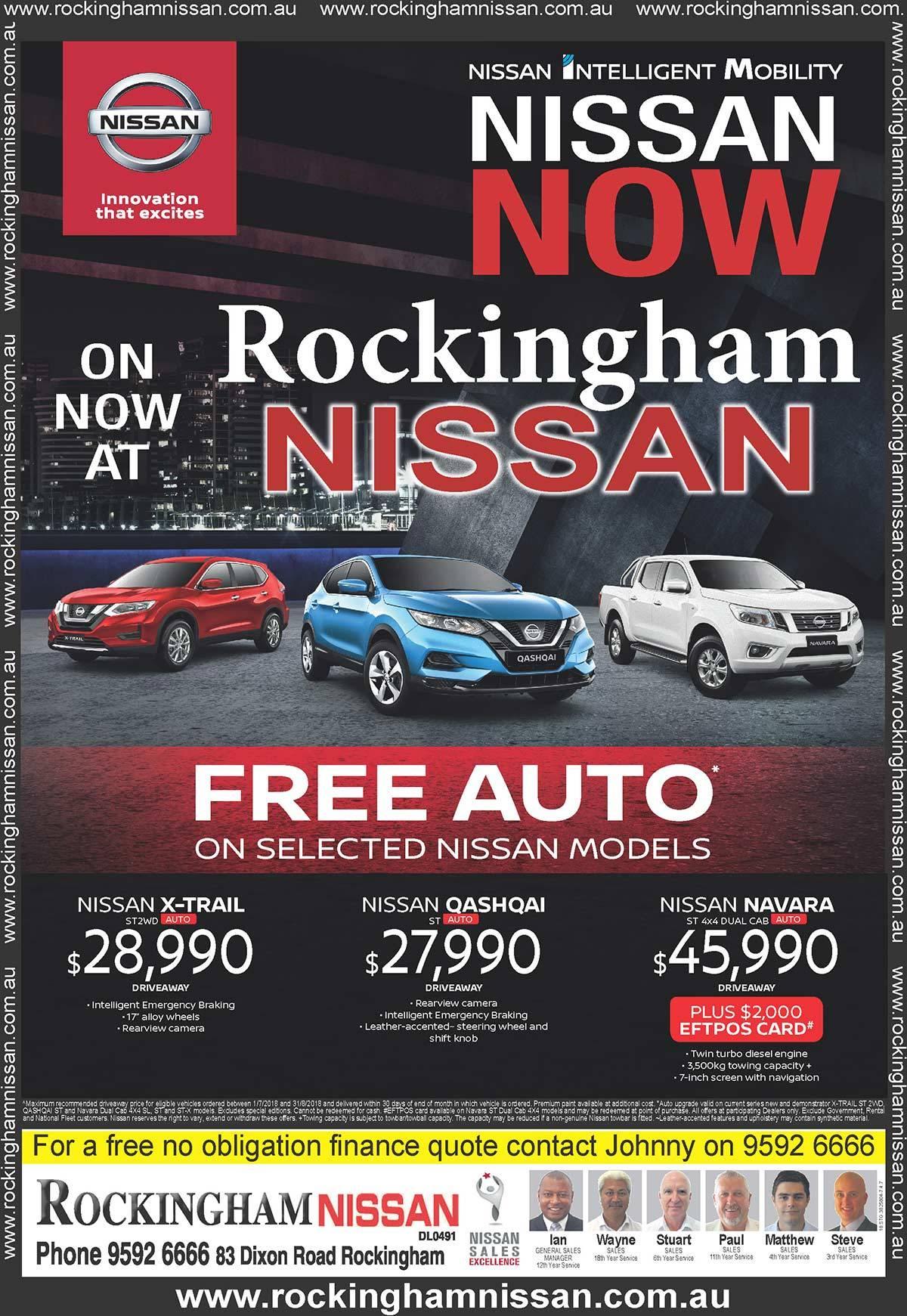 Rockingham Nissan Free Auto