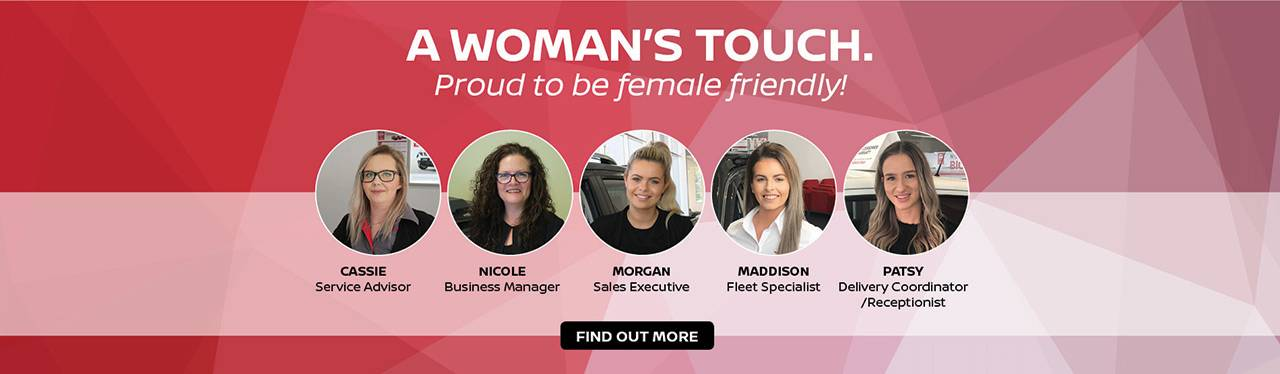 Yarra Valley Nissan A Woman's Touch