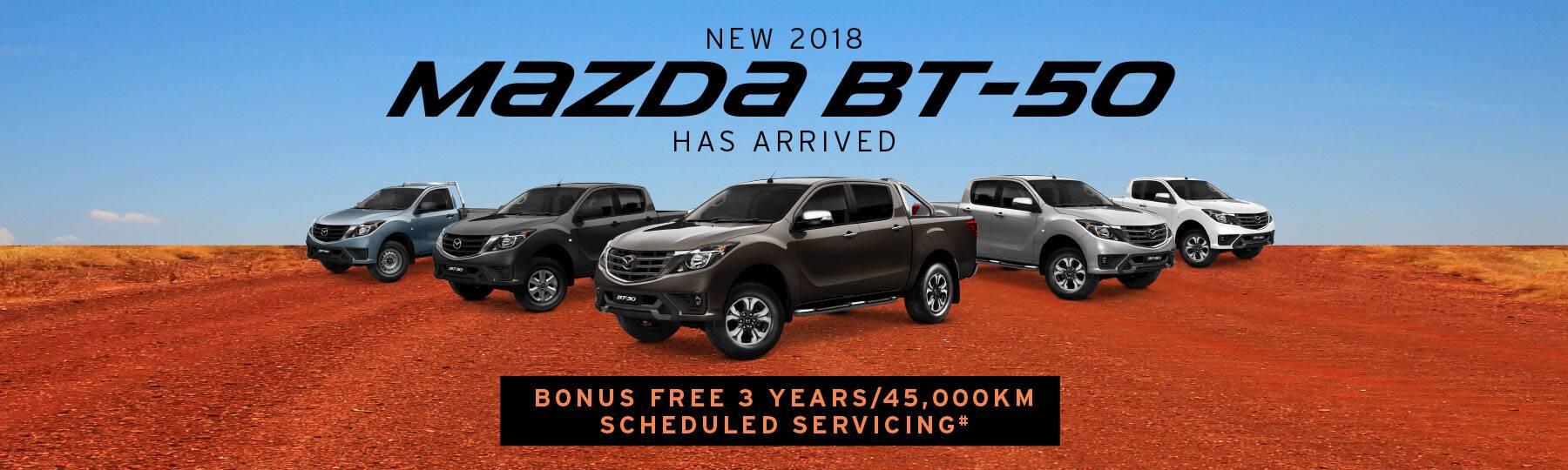 2018 Mazda BT-50