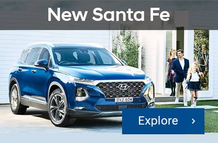 NEW SANTA FE 7 SEATER SUV Promotion