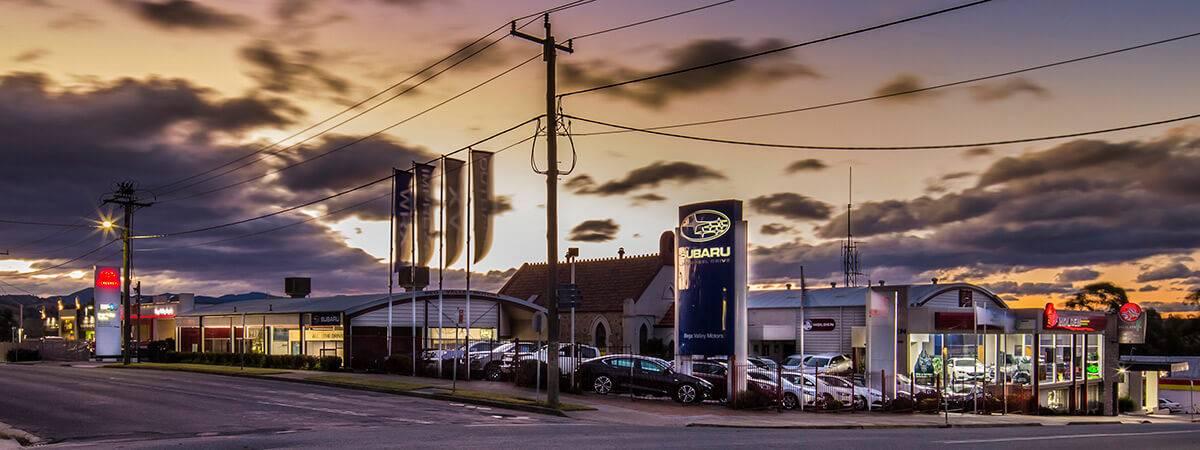 Toyota honda holden subaru ironman 4x4 bega valley for Subaru cumberland valley motors