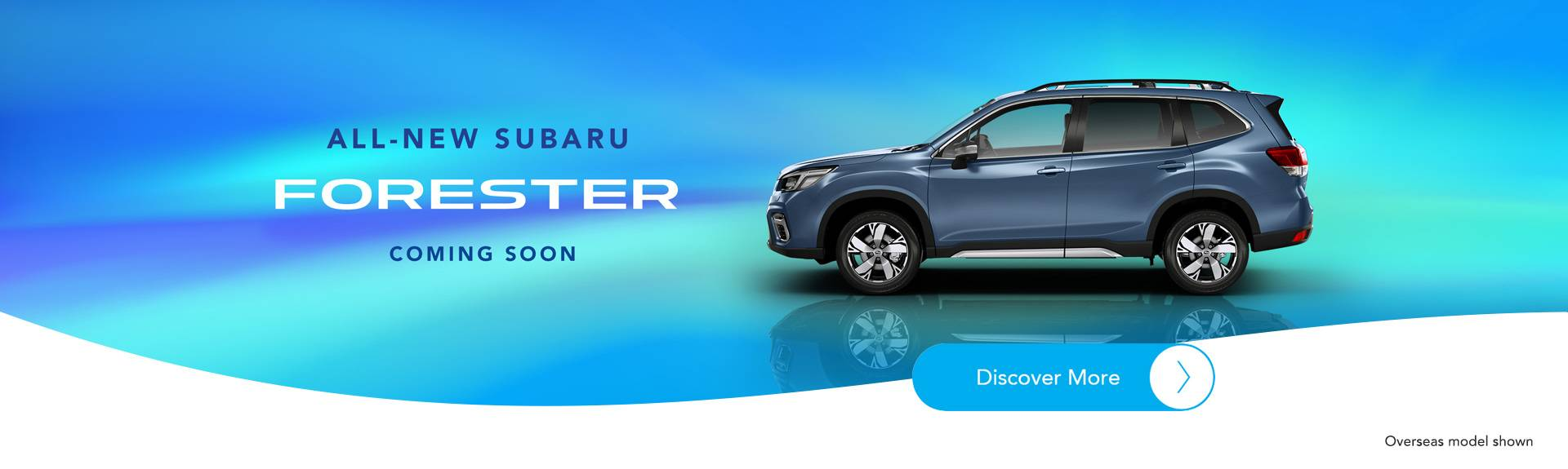 New Subaru Forester Coming Soon