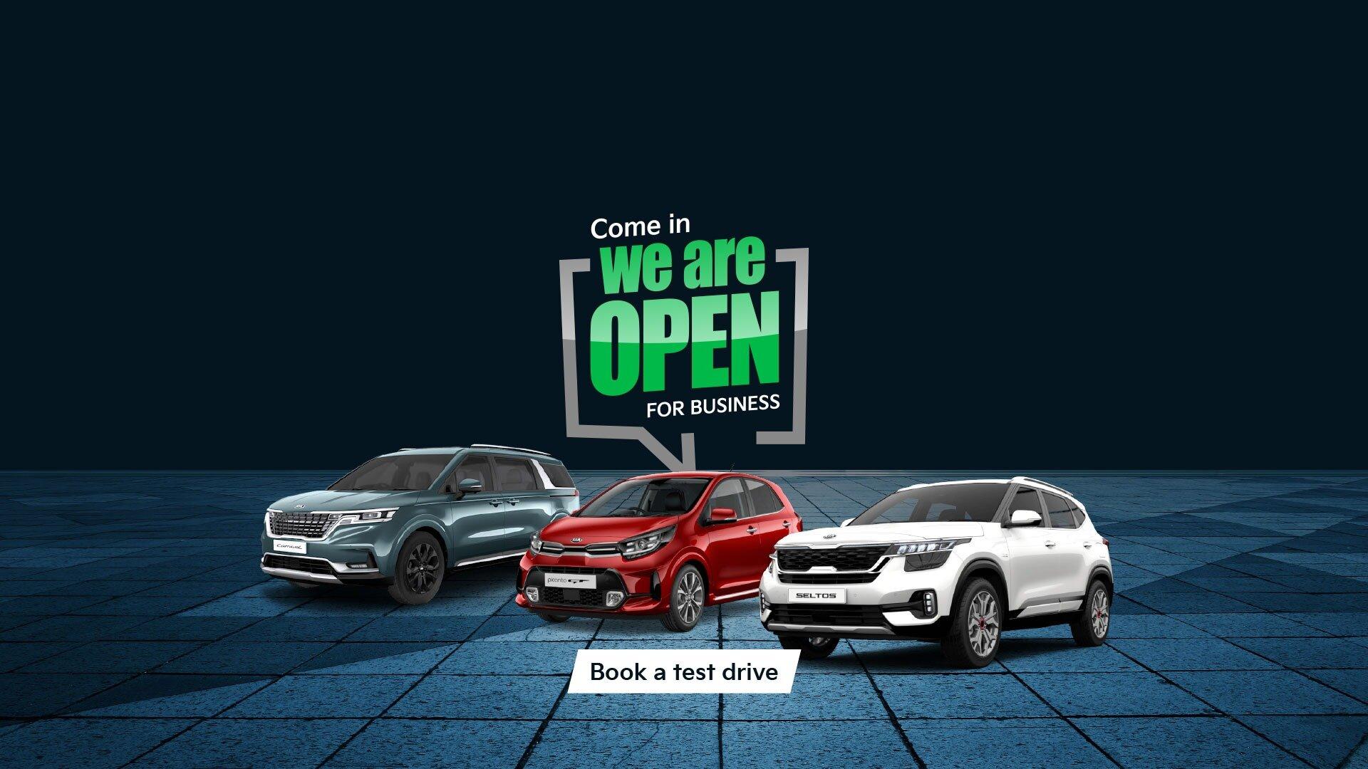 Ryde Kia are open