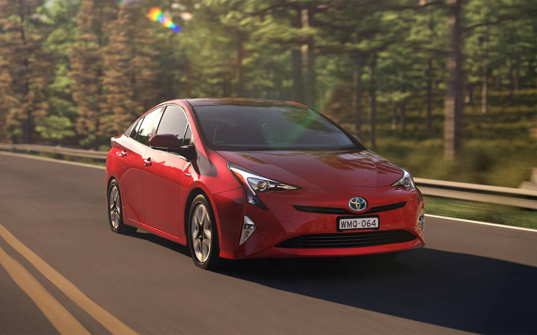 Toyota Prius Intelligent driving