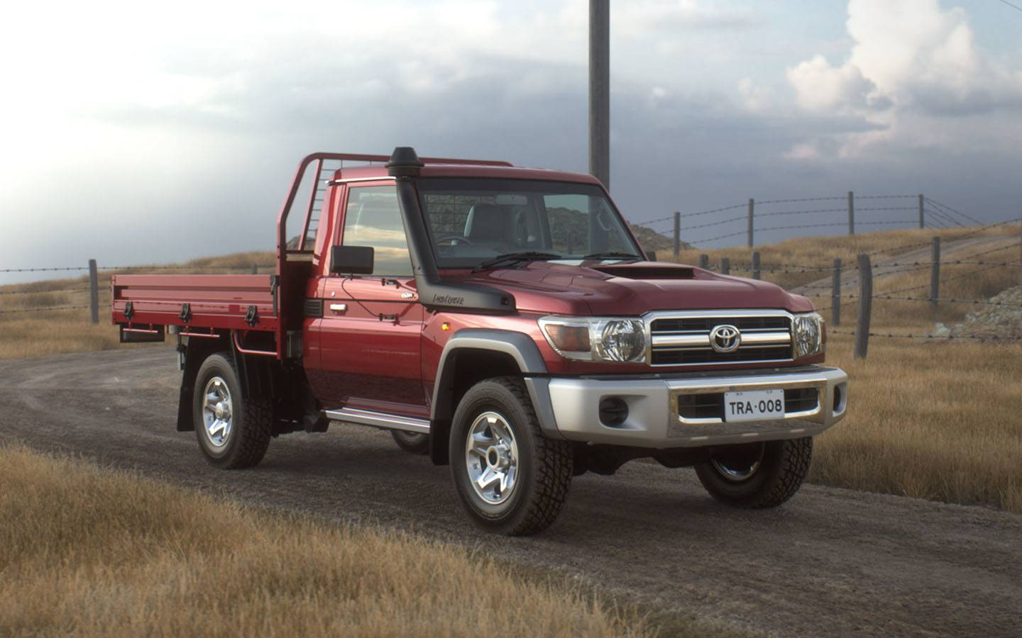 Toyota Landcruiser 70 Performance