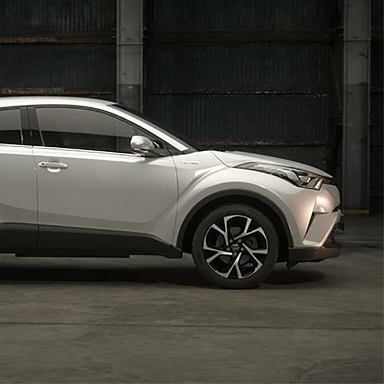 Toyota C-HR Front Styling
