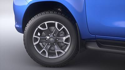18 Alloy Wheels (shown in Machined Grey)