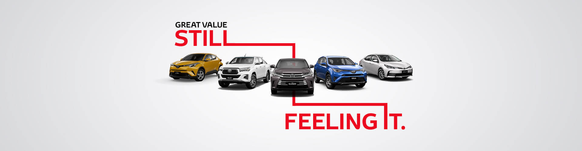 Toyota Special Offers | Great Value. Still Feeling It.
