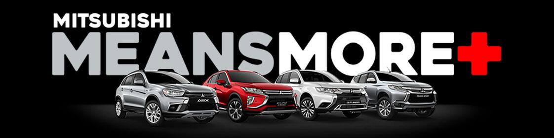 Mitsubishi Means More+