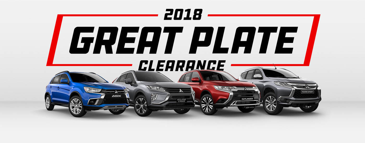 Mitsubishi Great Plate Clearance
