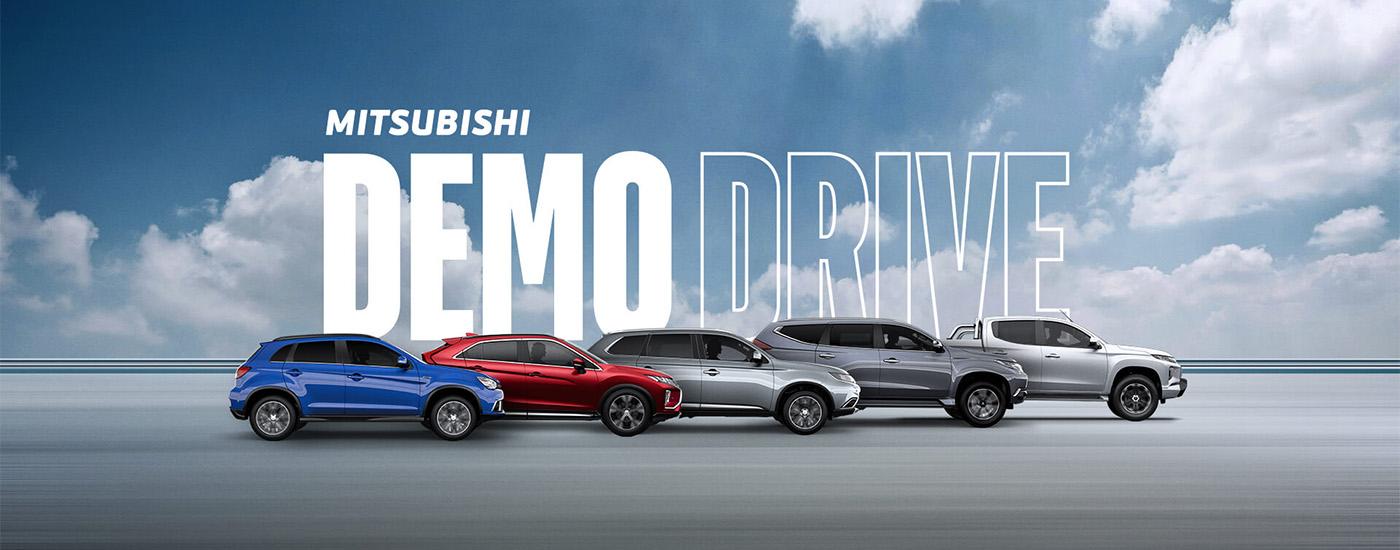 Mitsubishi Demo Drive