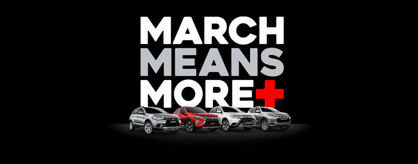 Mitsubishi March Means More+