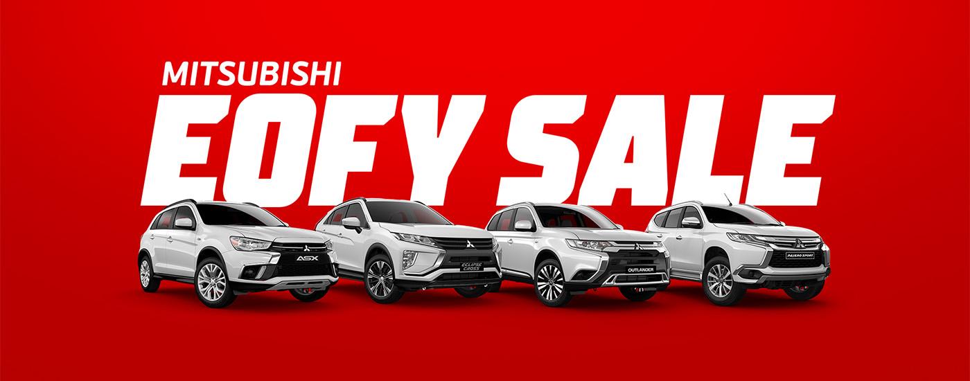 Mitsubishi EOFY Sale