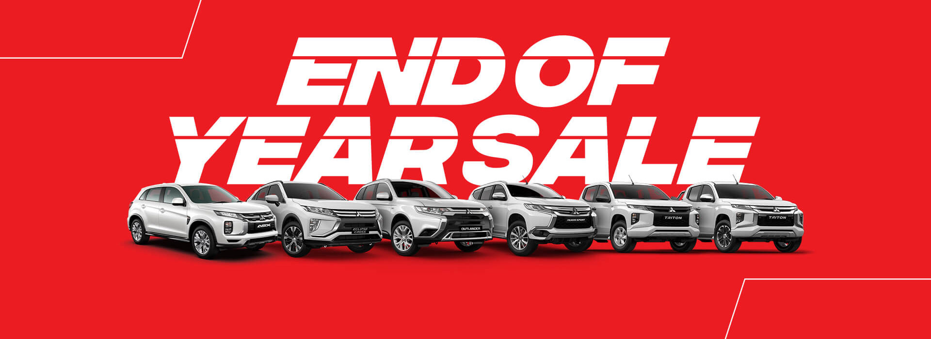 Mitsubishi End of Year Sale
