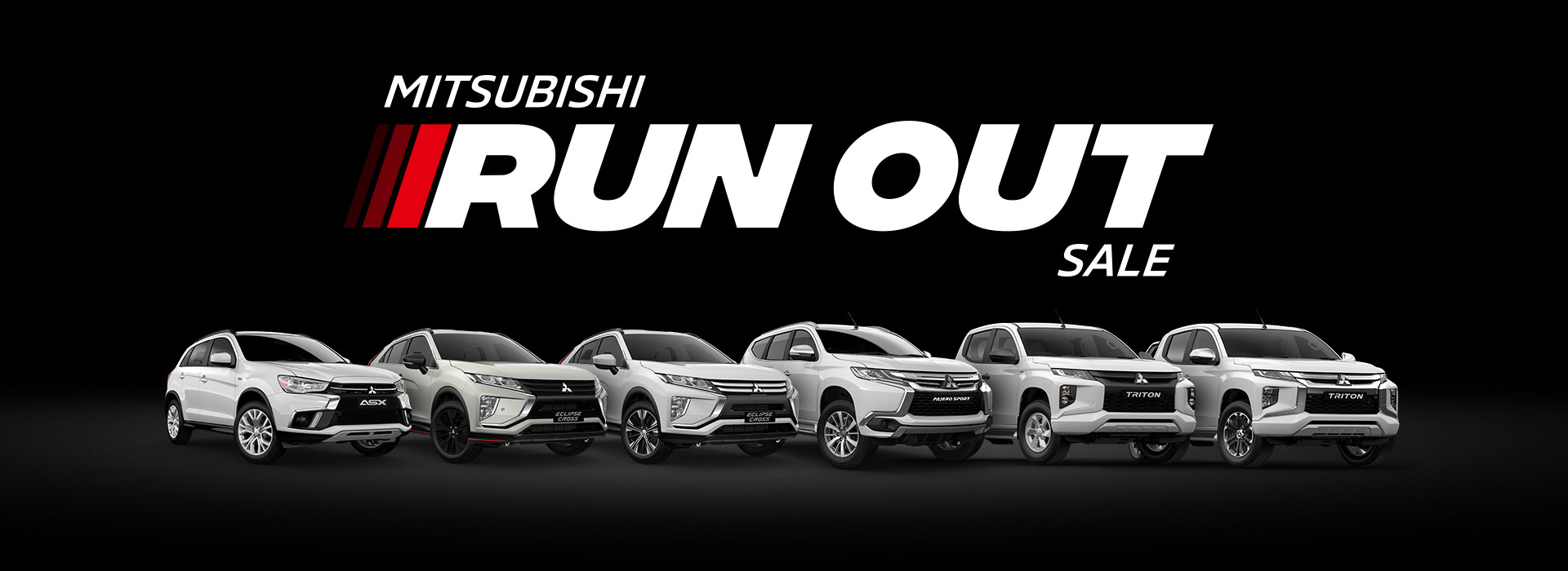 Mitsubishi Run Out Sale