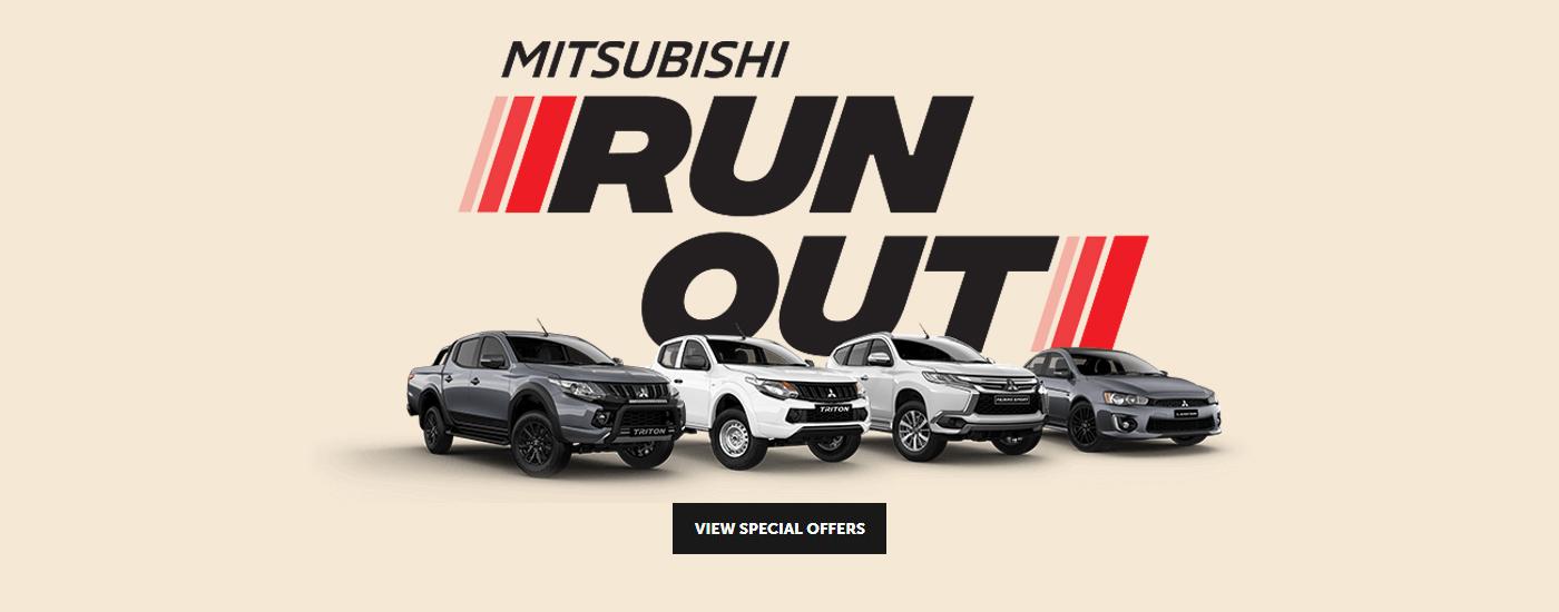 Mitsubishi Run Out