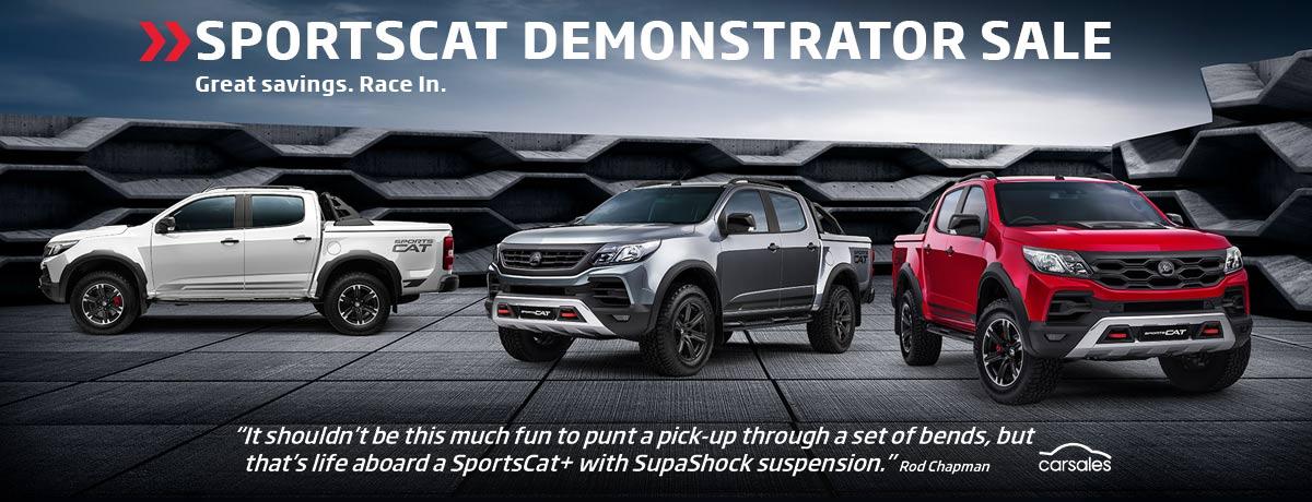 Sportscat Demo Sale