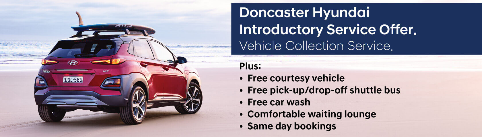 Doncaster Hyundai Introductory Service Offer