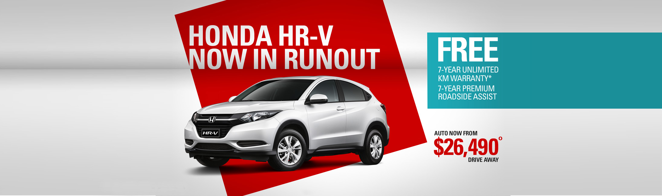 Honda HRV Run Out