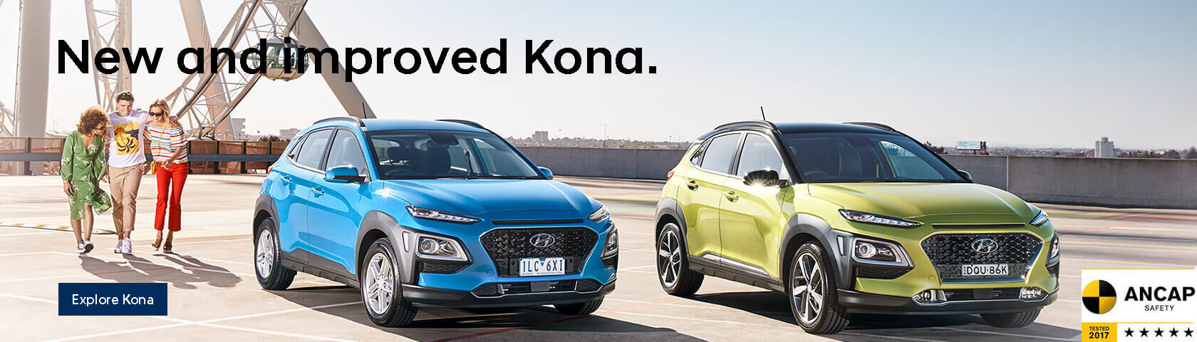 Hyundai New and Improved Kona