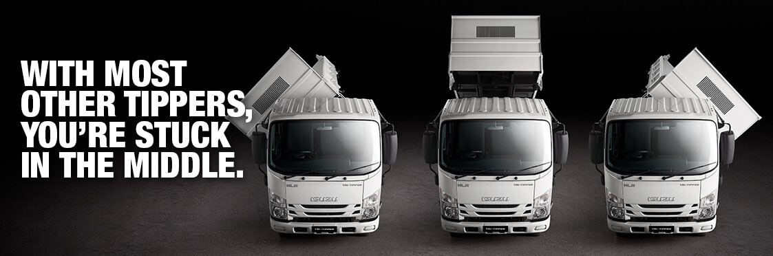 Isuzu Ready-To-Work Tipper Range