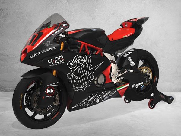 MV Agusta Reveal Their 2019 Moto2 Race Bike
