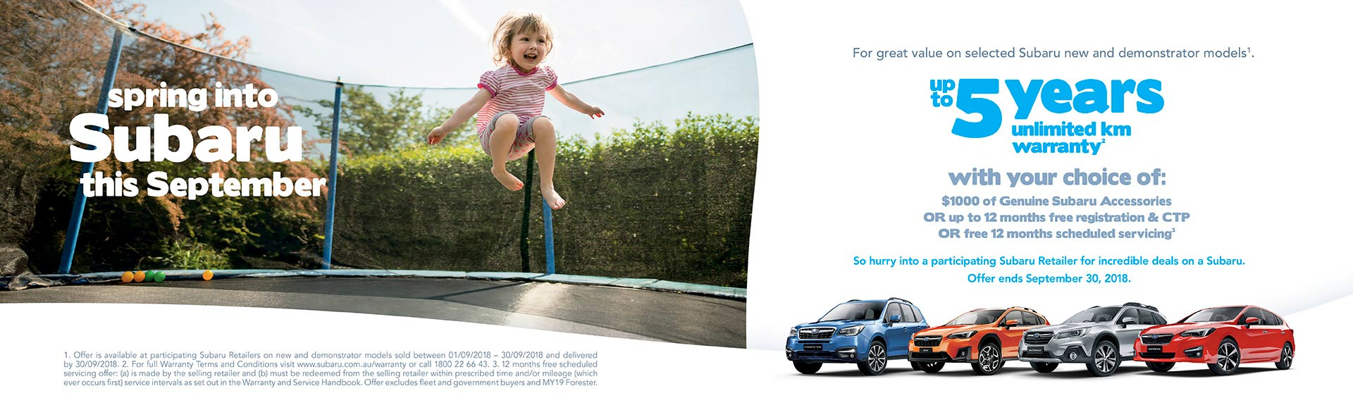 Subaru Latest Offers