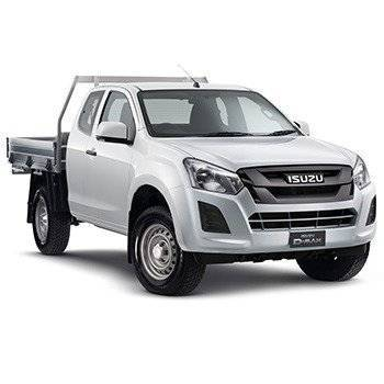 D-MAX 4x4 SX SPACE CAB CHASSIS AUTO Small Image