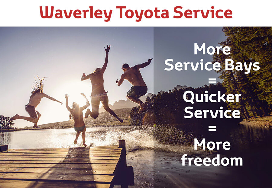 Waverley Toyota Service Special