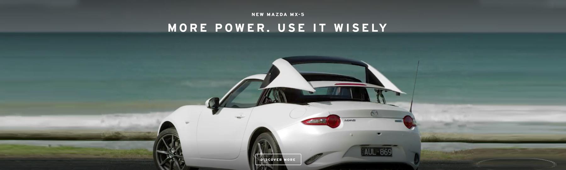 Mazda MX-5 Video Banner