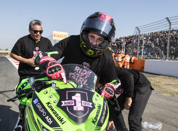 WIN Like A Girl - Kawasaki's Ana Carrasco