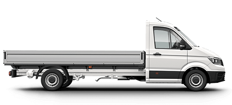 VW CRafter Single Cab Chassis
