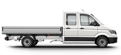 VW Crafter Dual Cab Chassis